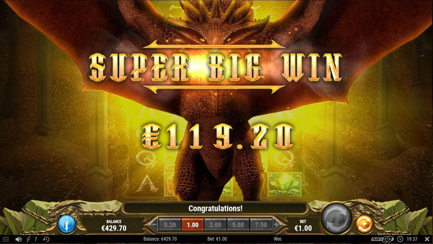 24k Dragon Casino win picture by Kari Grandi 23.11.2020 119.20e 119X