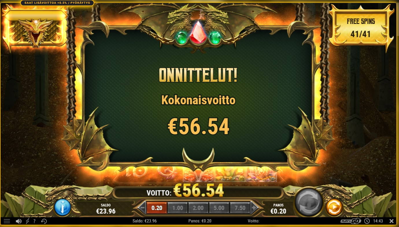 24k Dragon Casino win picture by Mrmork666 4.12.2020 56.54e 283X