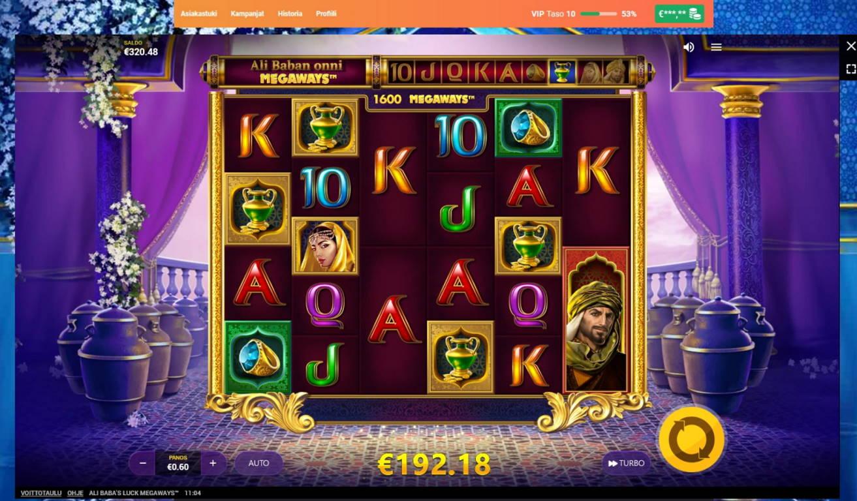 Ali Babas Luck Megaways Casino win picture by MrMork666 22.11.2020 192.18e 320x