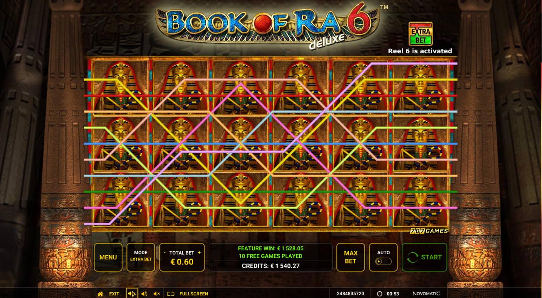 Book of Ra 6 Casino win picture by jaxy1k 5.12.2020 1528.05e 2547X