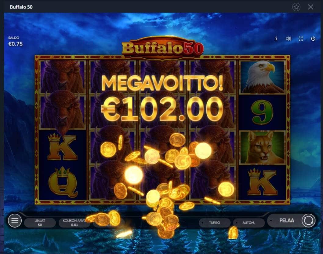 Buffalo 50 Casino win picture by MrMork666 26.11.2020 102e 204x
