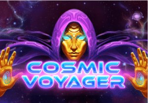 Cosmic Voyager slot logo
