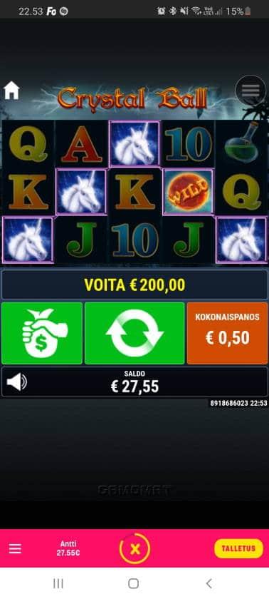 Crystal Ball Casino win picture by dj_niemi 24.11.2020 200e 400X Caxino