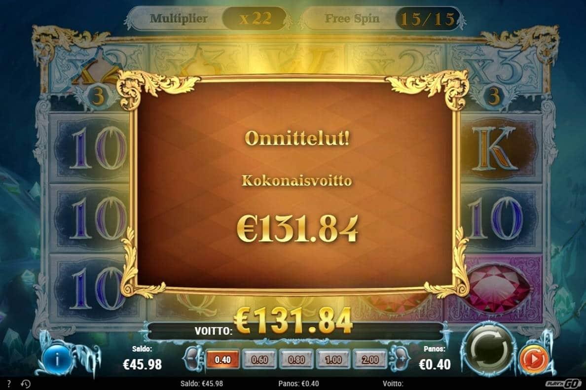 Frozen Gems Casino win picture by Rektumi 11.12.2020 131.84e 330X