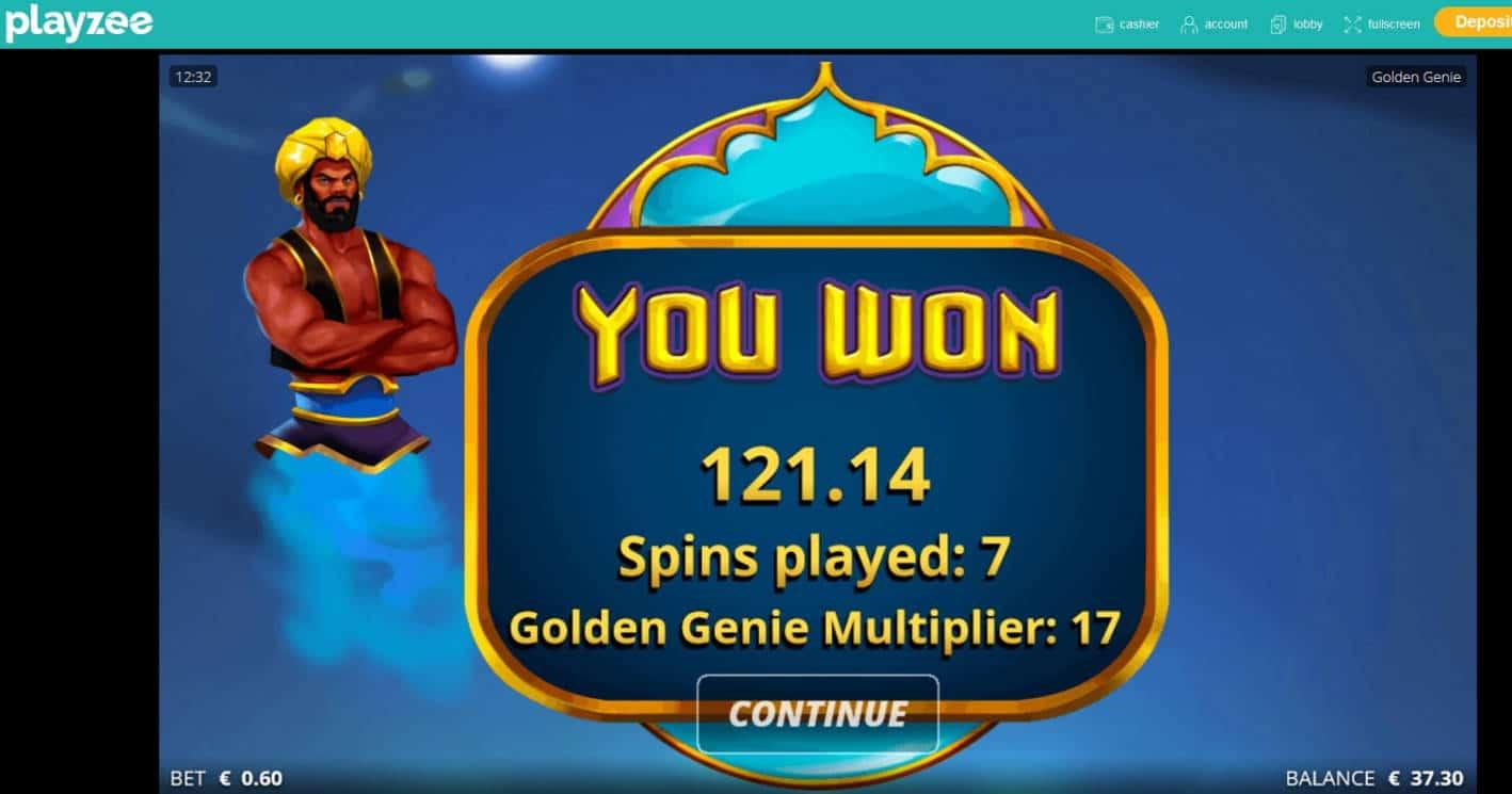 Golden Genie Casino win picture by MrMork666 26.11.2020 121.14e 202x