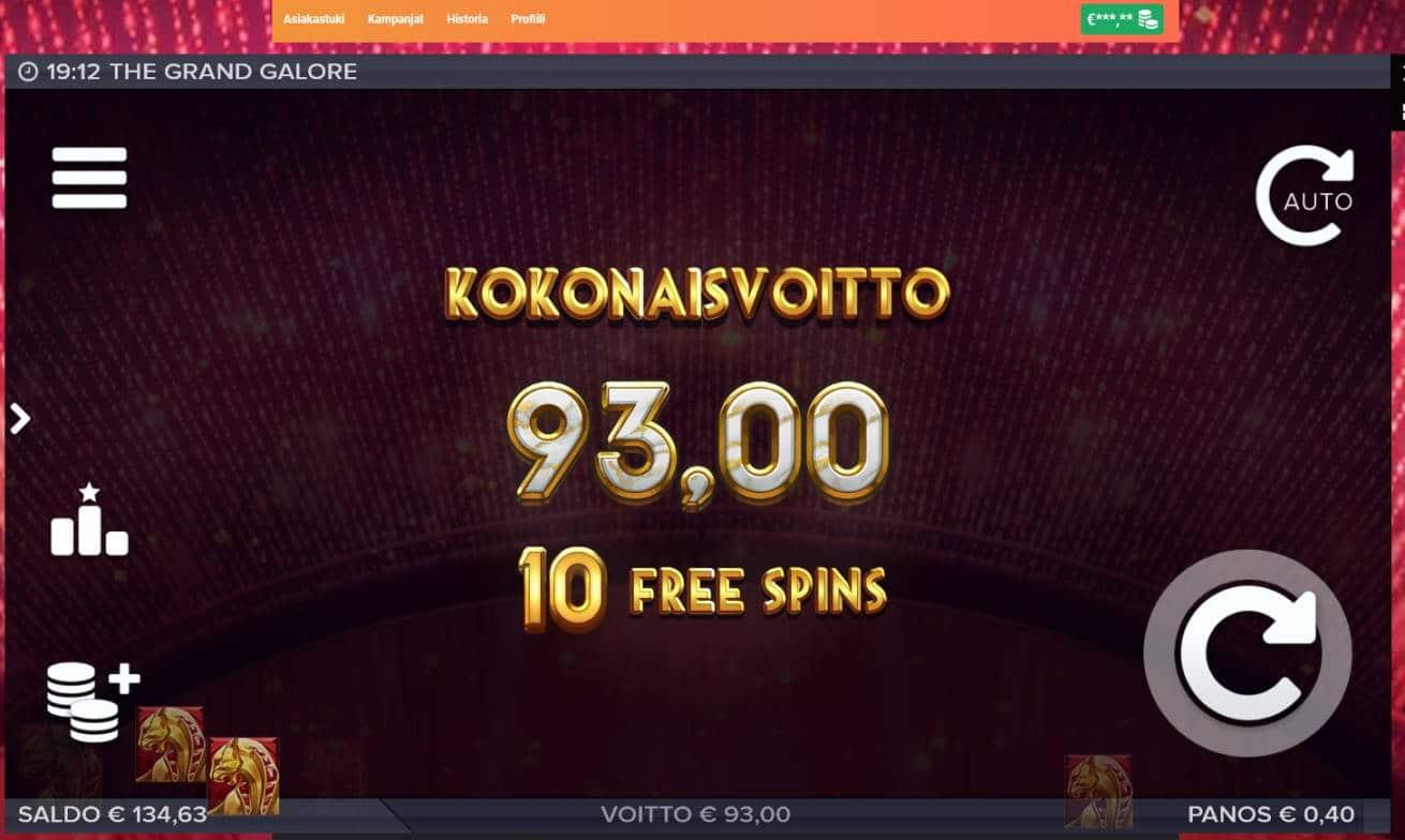 Grand Galore Casino win picture by MrMork666 26.11.2020 93e 233x