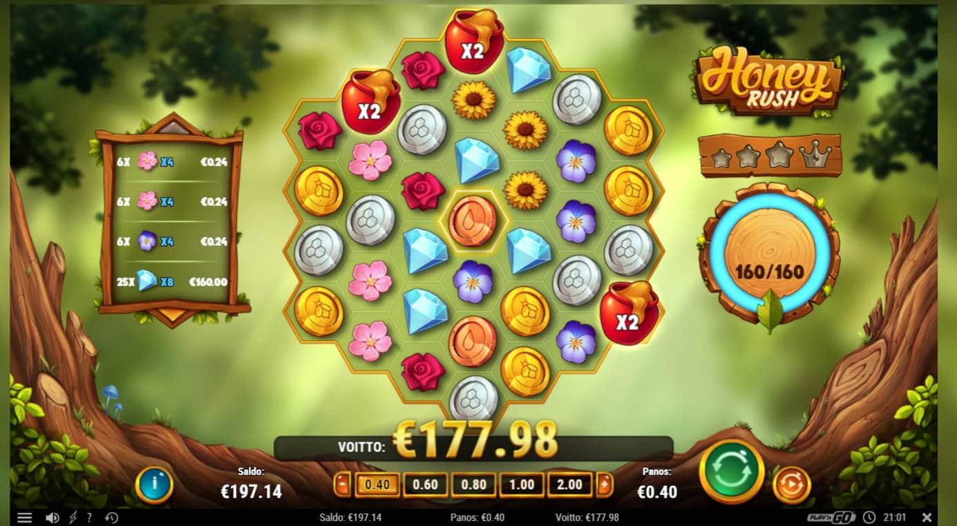 Honey Rush Casino win picture by jaxy1k 5.12.2020 177.98e 445X