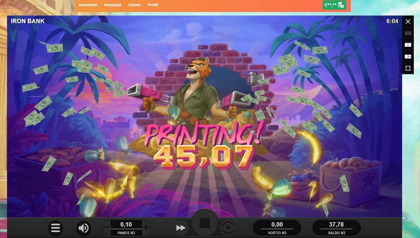 Iron Bank Casino win picture by MrMork666 26.11.2020 45.07e 451x LeoVegas