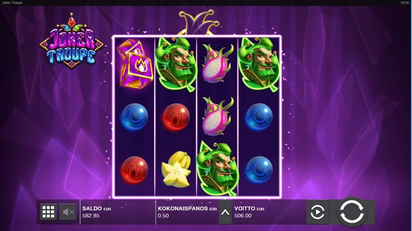 Joker Troupe Casino win picture by Kari Grandi 1.12.2020 506e 1012X