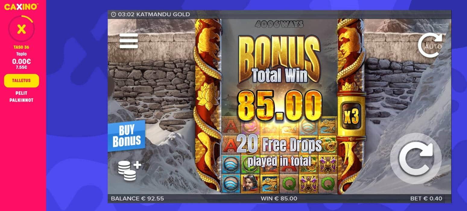 Katmandu Gold Casino win picture by Mrmork666 4.12.2020 85e 212X