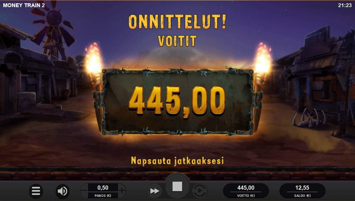 Money Train 2 Casino win picture by Kari Grandi 19.11.2020 445e 890X