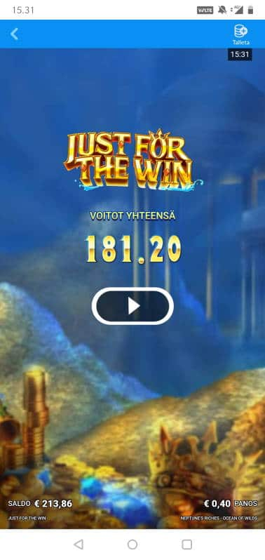Neptunes Riches Wilds Casino win picture by MikoTiko 19.11.2020 181.20e 453X
