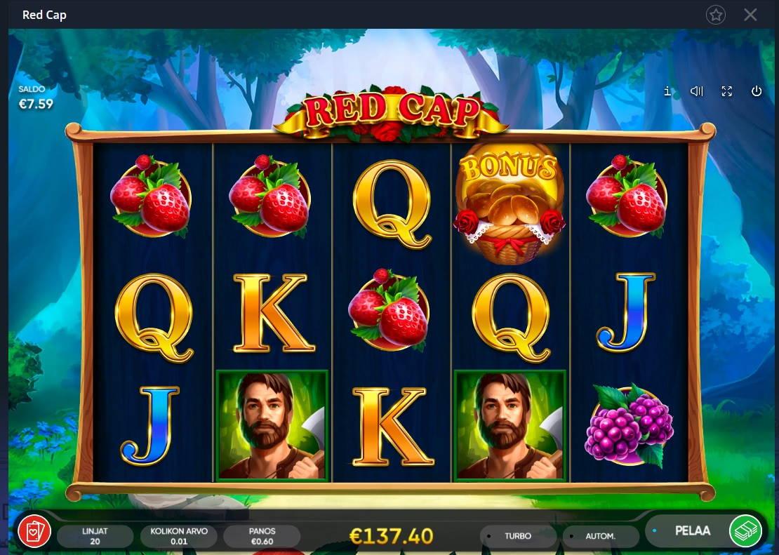 Red Cap Casino win picture by MrMork666 22.11.2020 137.40e 229x