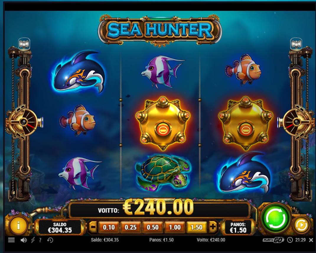 Sea Hunter Casino win picture by kalmakoura666 3.12.2020 240e 160X