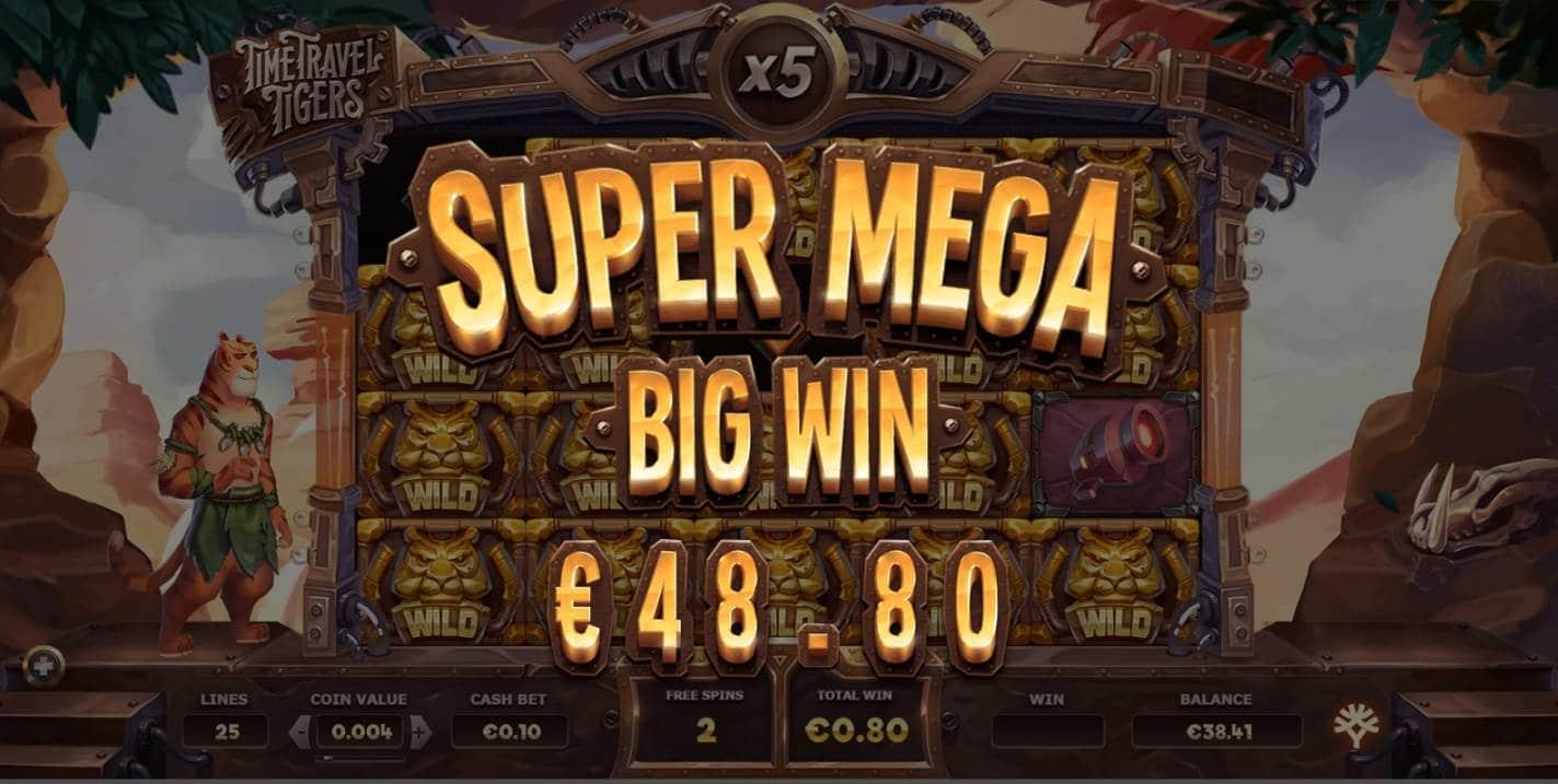 Time Travel Tigers Casino win picture by fujilwyn 27.11.2020 48.80e 488X