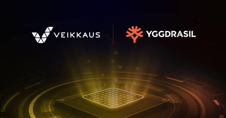 Veikkaus adds Yggdrasil to landbased