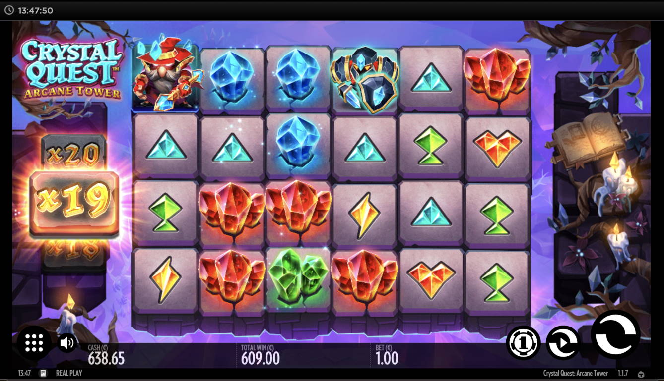 Crystal Quest Arcane Tower Casino win picture by timmir84 16.12.2020 609e 609X