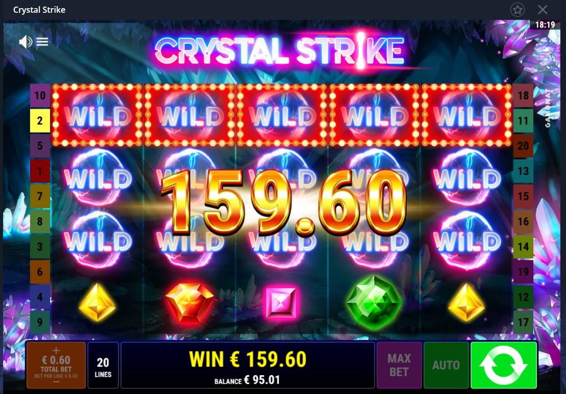 Crystal Strike Casino win picture by Mrmork666 24.12.2020 159.60e 266X