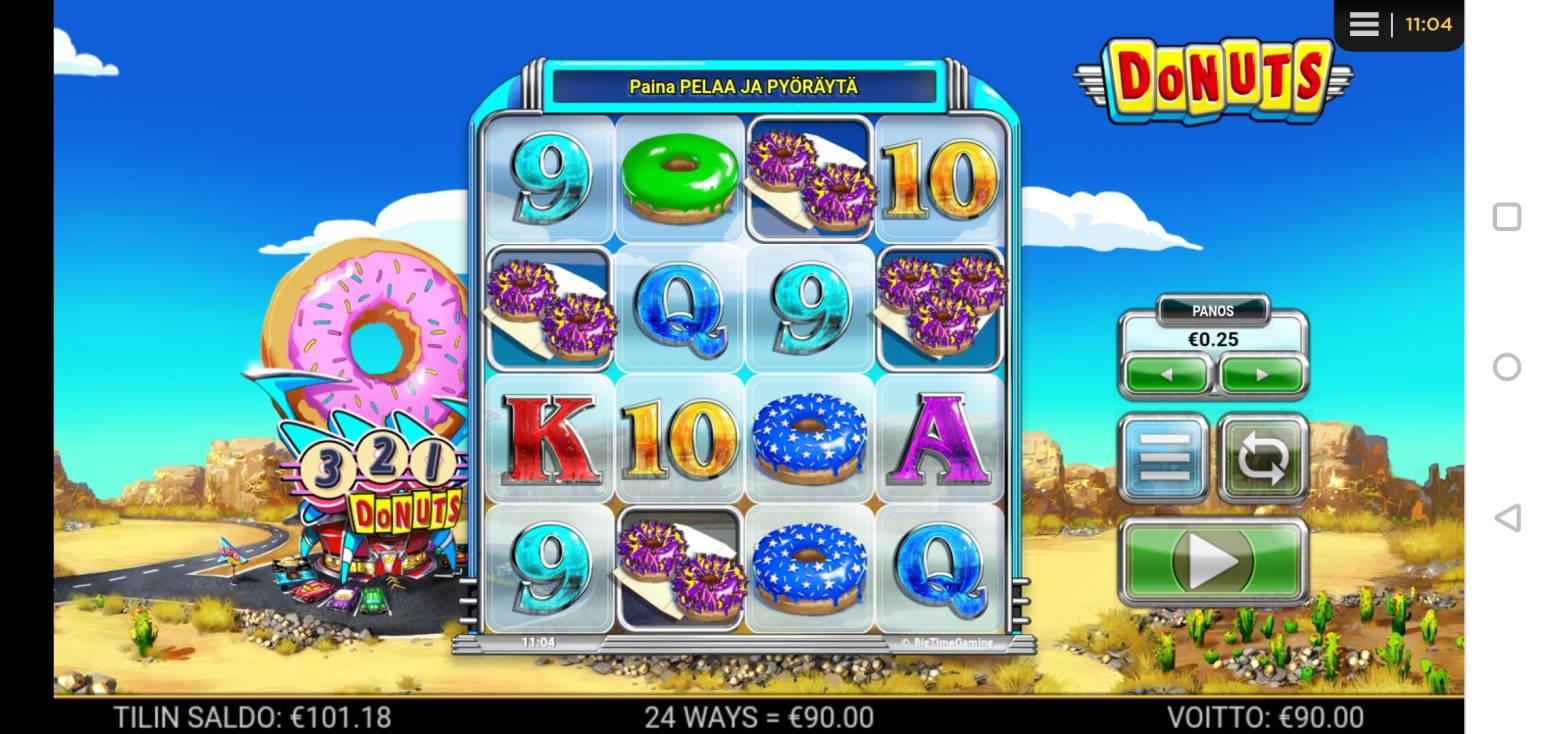 Donuts Casino win picture by MikoTiko 12.1.2021 90e 360X