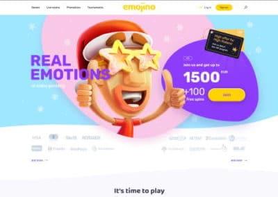 Emojino Casino Lobby