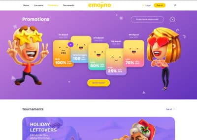 Emojino Casino Promotions