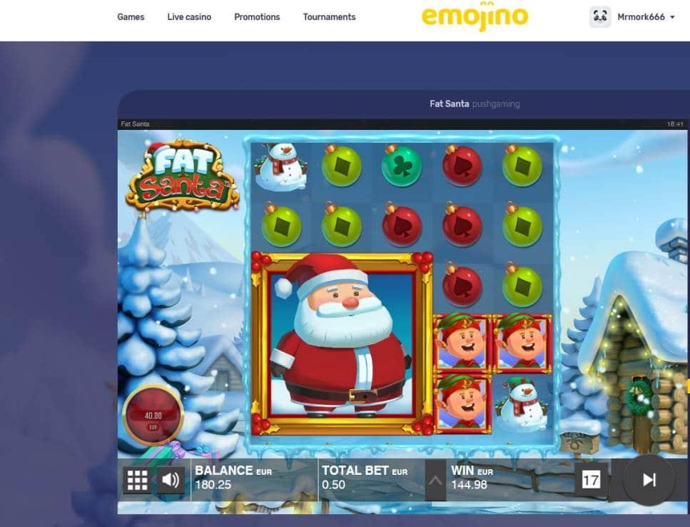Fat Santa Casino win picture by Mrmork666 16.1.2021 144.98e 289x
