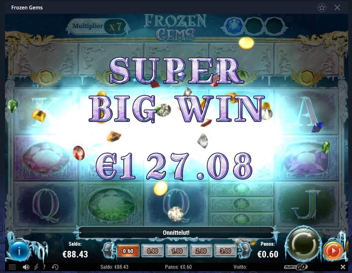 Frozen Gems Casino win picture by Mrmork666 24.12.2020 127.08e 212X