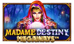 Madame Destiny Megaways slot logo