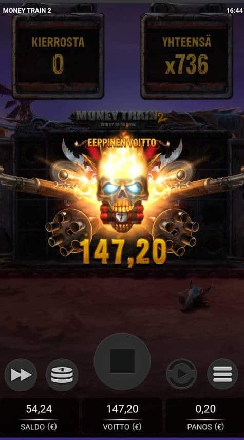 Money Train 2 Casino win picture by Rektumi 10.1.2021 147.20e 736X Wildz
