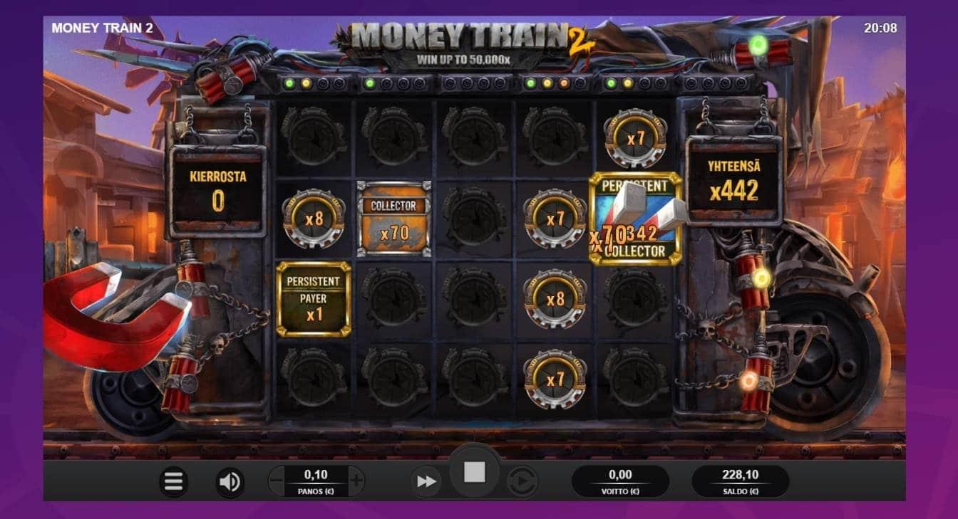 Money Train 2 Casino win picture by houseri 14.1.2021 44.20e 442X Wheelz