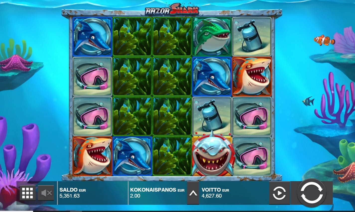 Razor Shark Casino win picture by Morrimoykky 30.12.2020 4627.60e 2314X
