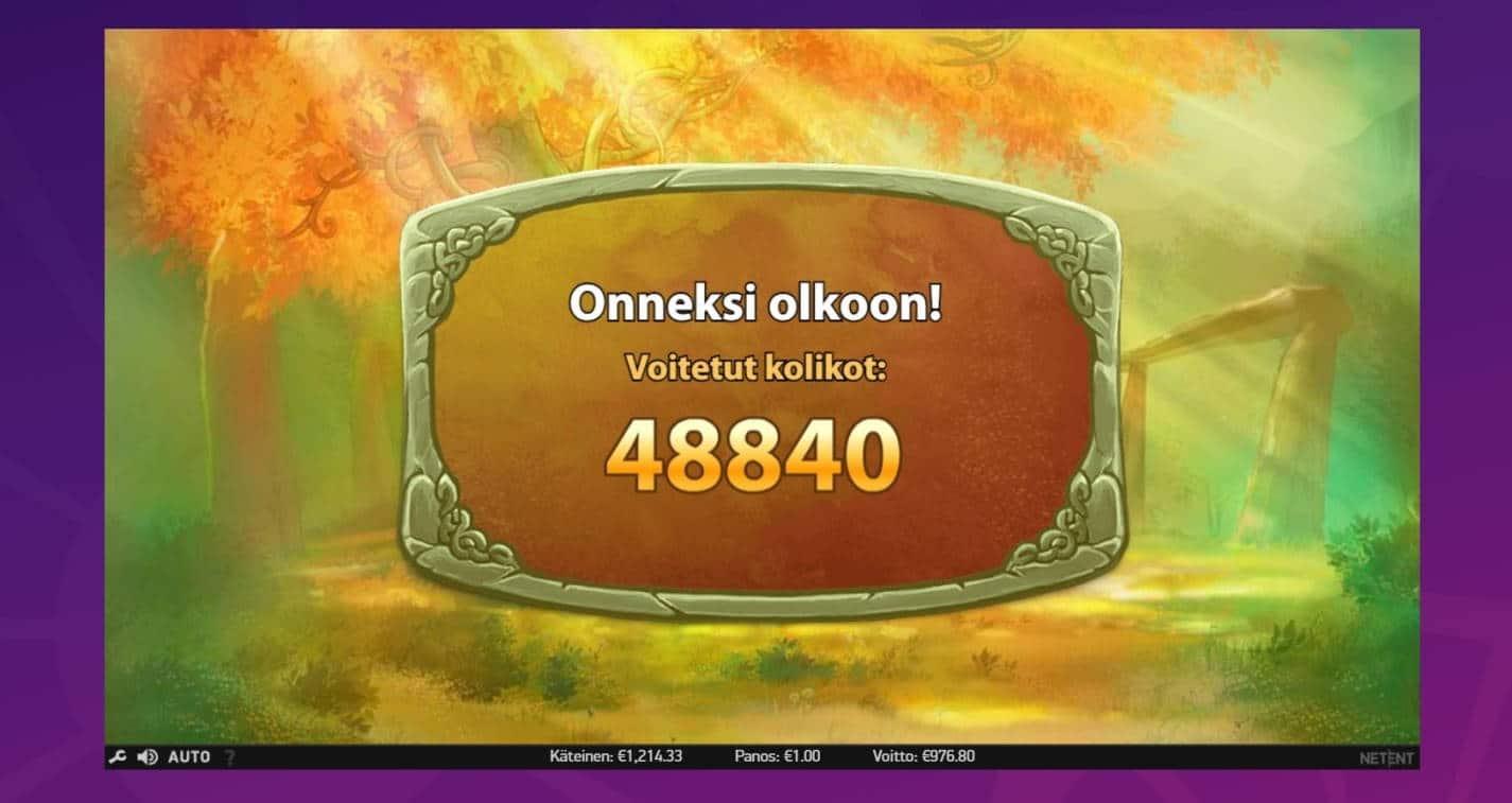 Secret of the Stone Max Casino win picture by houseri 14.1.2021 976.80e 977X Wheelz