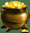 Slotnite pot of gold