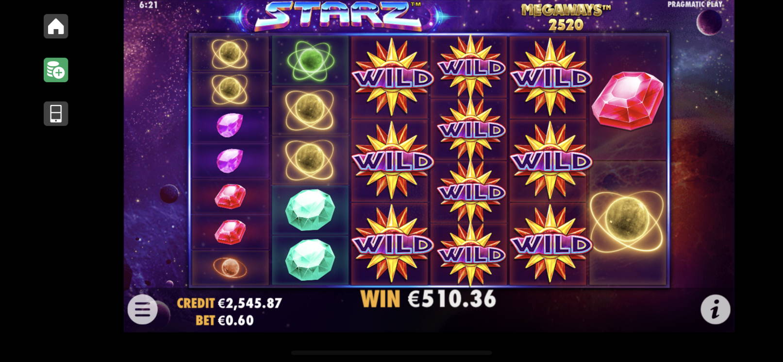 Starz Megaways Casino win picture by livewithoutlimits1986 18.12.2020 510.36e 851X
