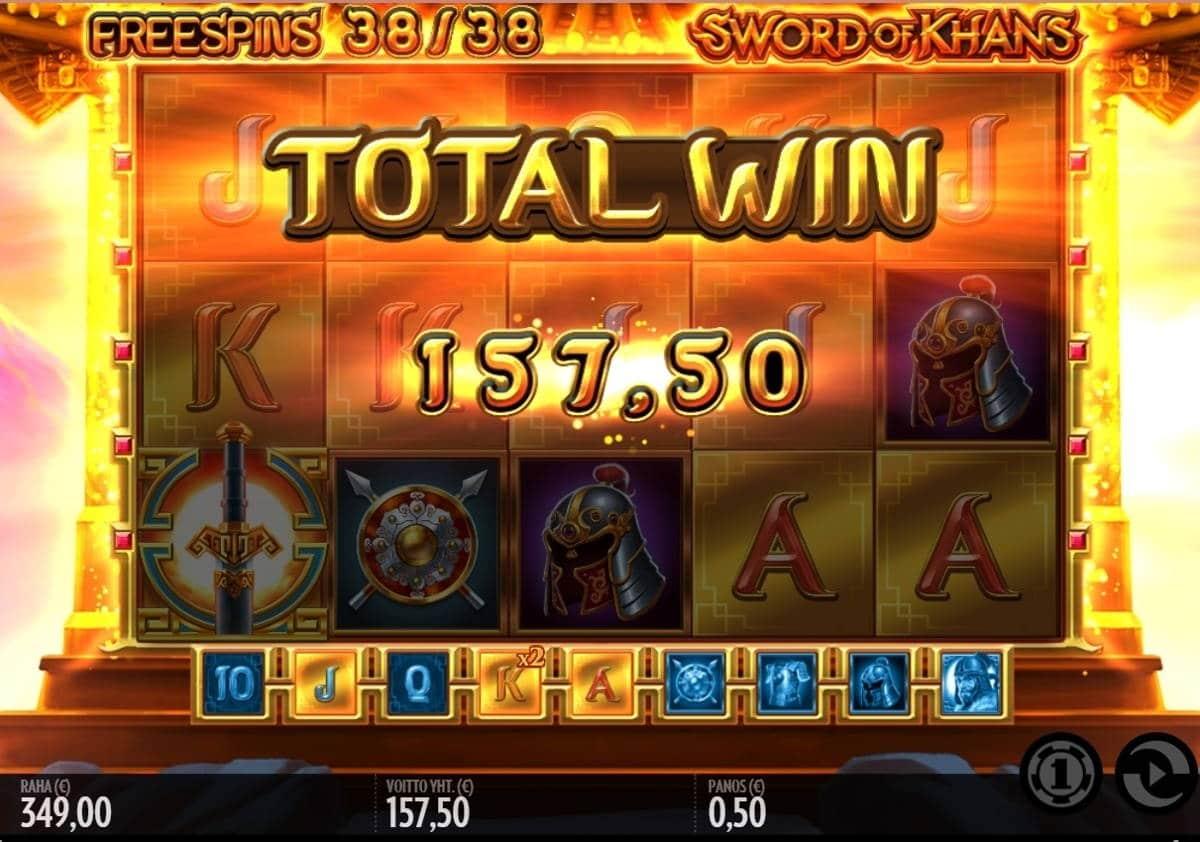 Sword of Khans Casino win picture by dj_niemi 11.1.2021 157.50e 315X