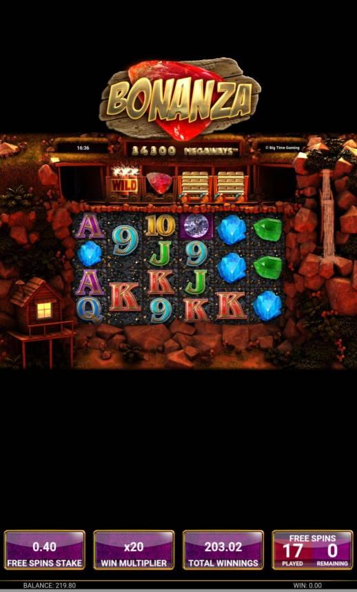 Bonanza Casino win picture by Markochef94 7.2.2021 203.02e 507.55X