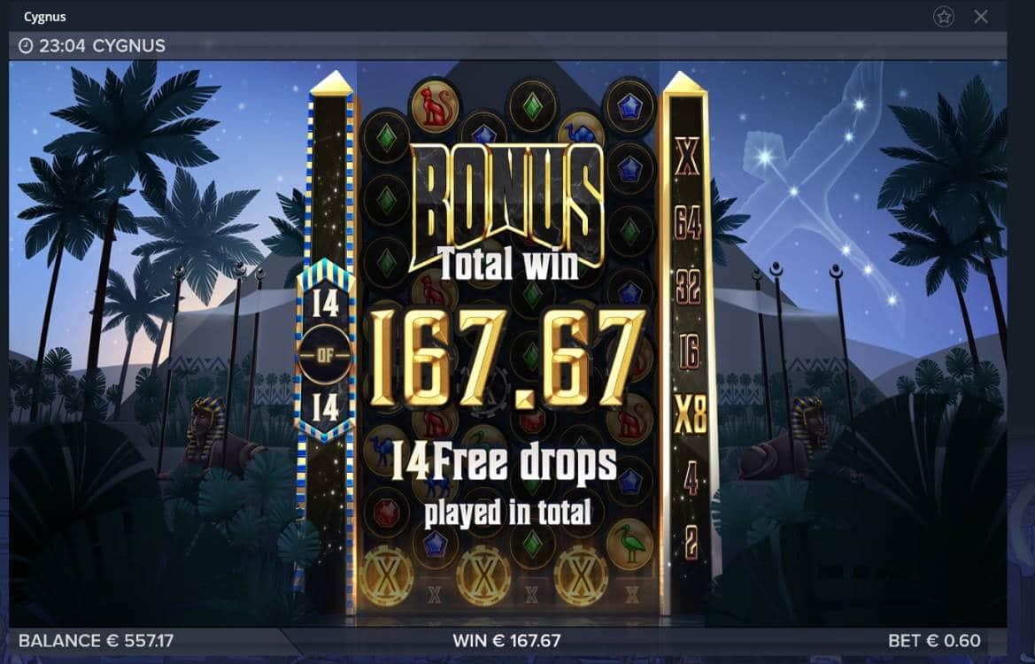 Cygnus Casino win picture by Mrmork666 28.1.2021 167.67e 279X