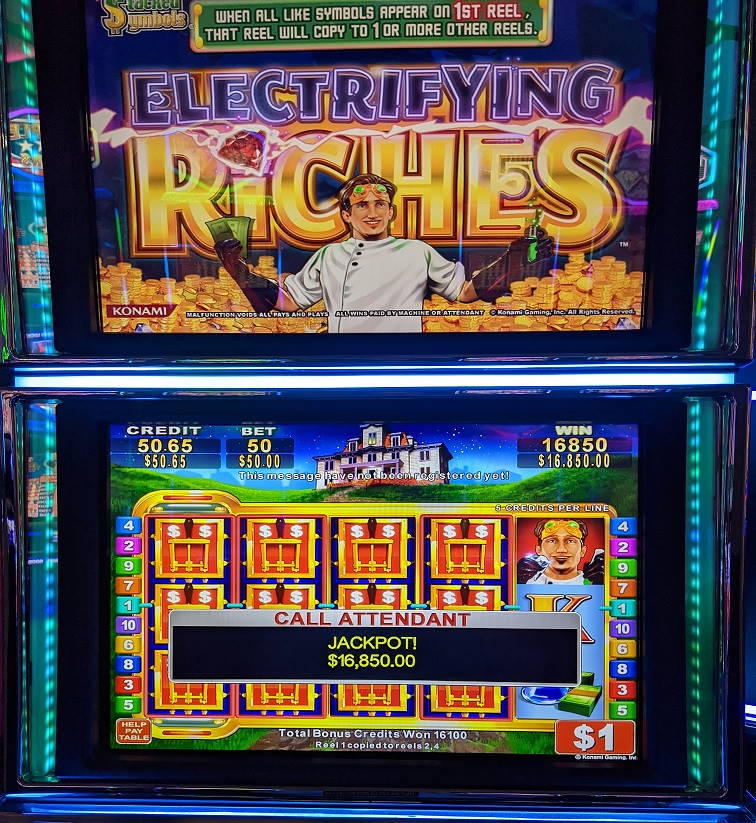 Electrifying Riches Casino win picture by Fishbones64 2.2.2021 16850d 337X