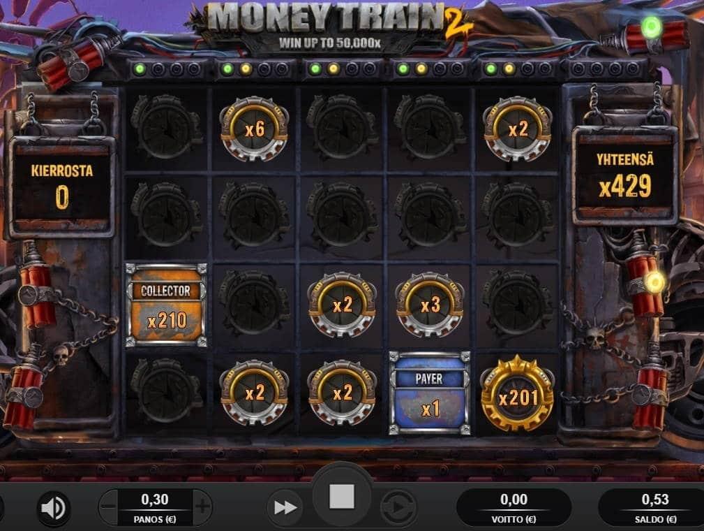 Money Train 2 Casino win picture by Rektumi 5.2.2021 128.70e 429X