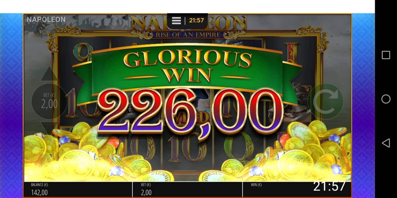 Napoleon Casino win picture by Banhamm 12.2.2021 226e 113X