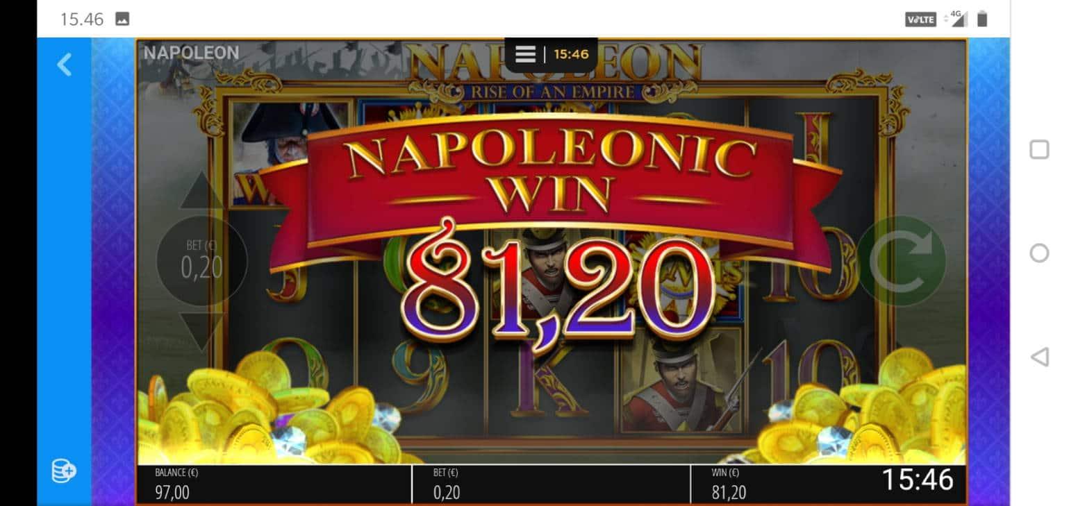 Napoleon Casino win picture by MikoTiko 18.1.2021 81.20e 406X