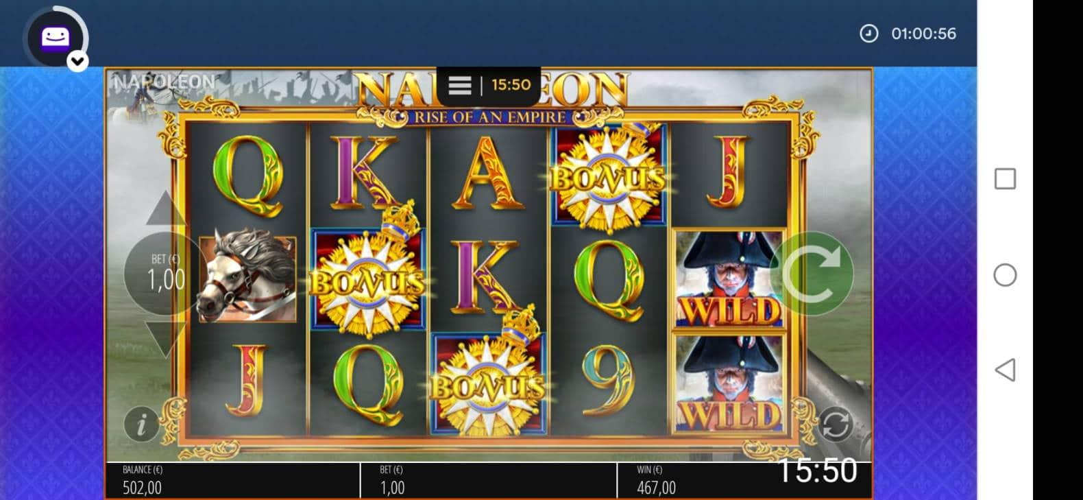 Napoleon Casino win picture by jyrkkenkloppi 7.2.2021 467e 467X