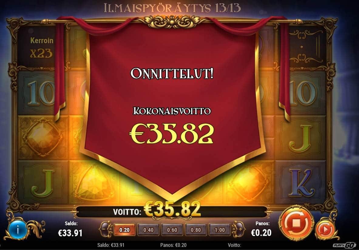 Perfect Gems Casino win picture by Mrmork666 28.1.2021 35.82e 179X