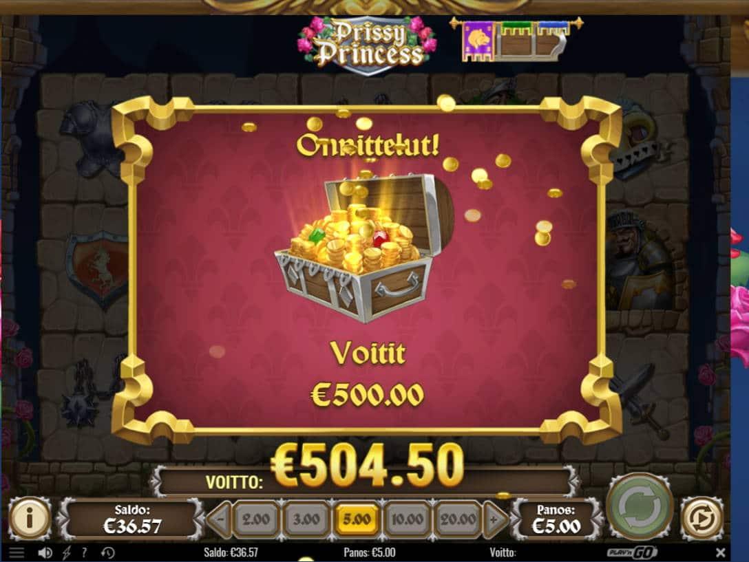 Prissy Princess Casino win picture by kalmakoura666 5.2.2021 504.50e 101X