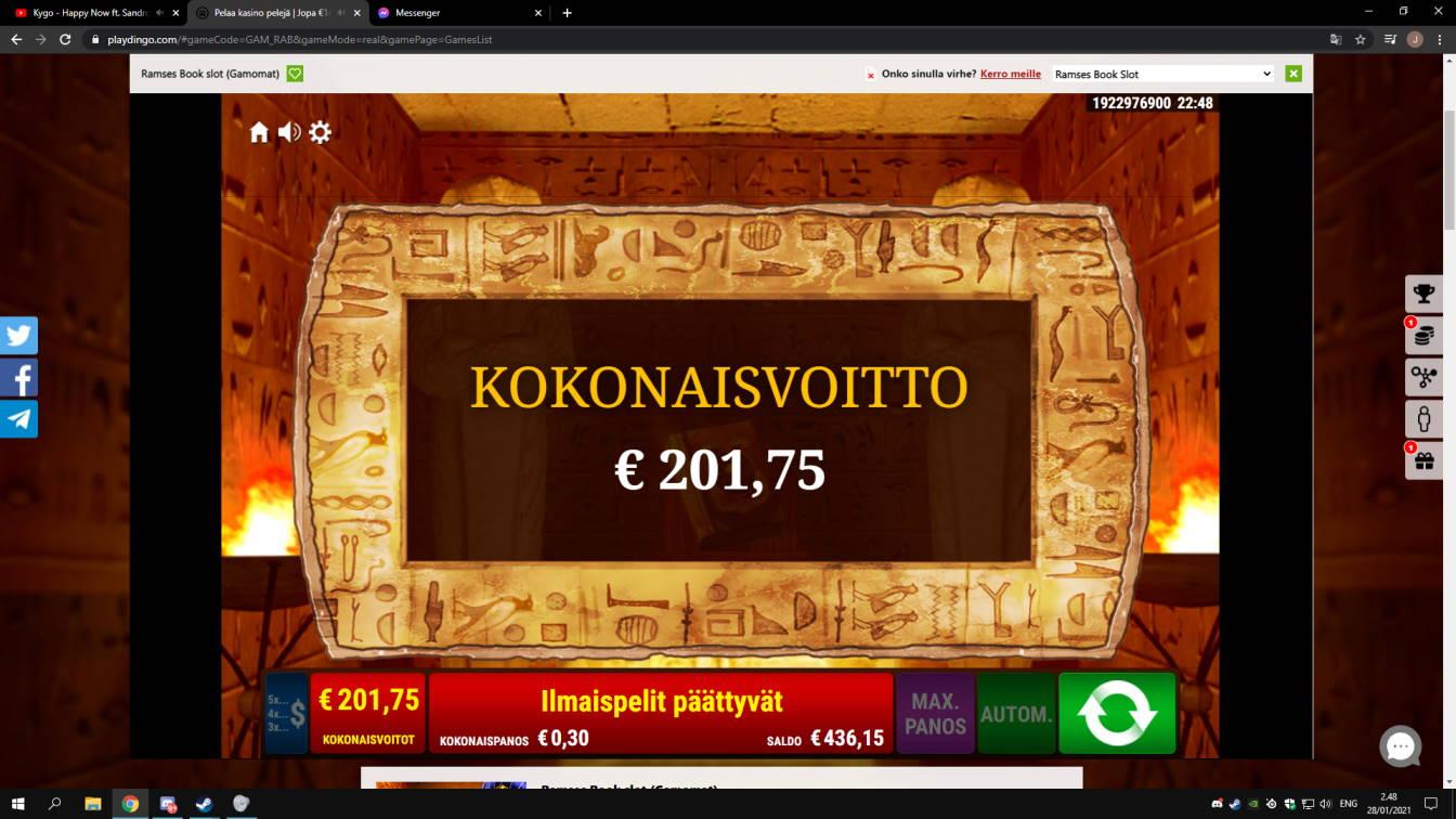 Ramses Book Casino win picture by jonkki 28.1.2021 201.75e 673X