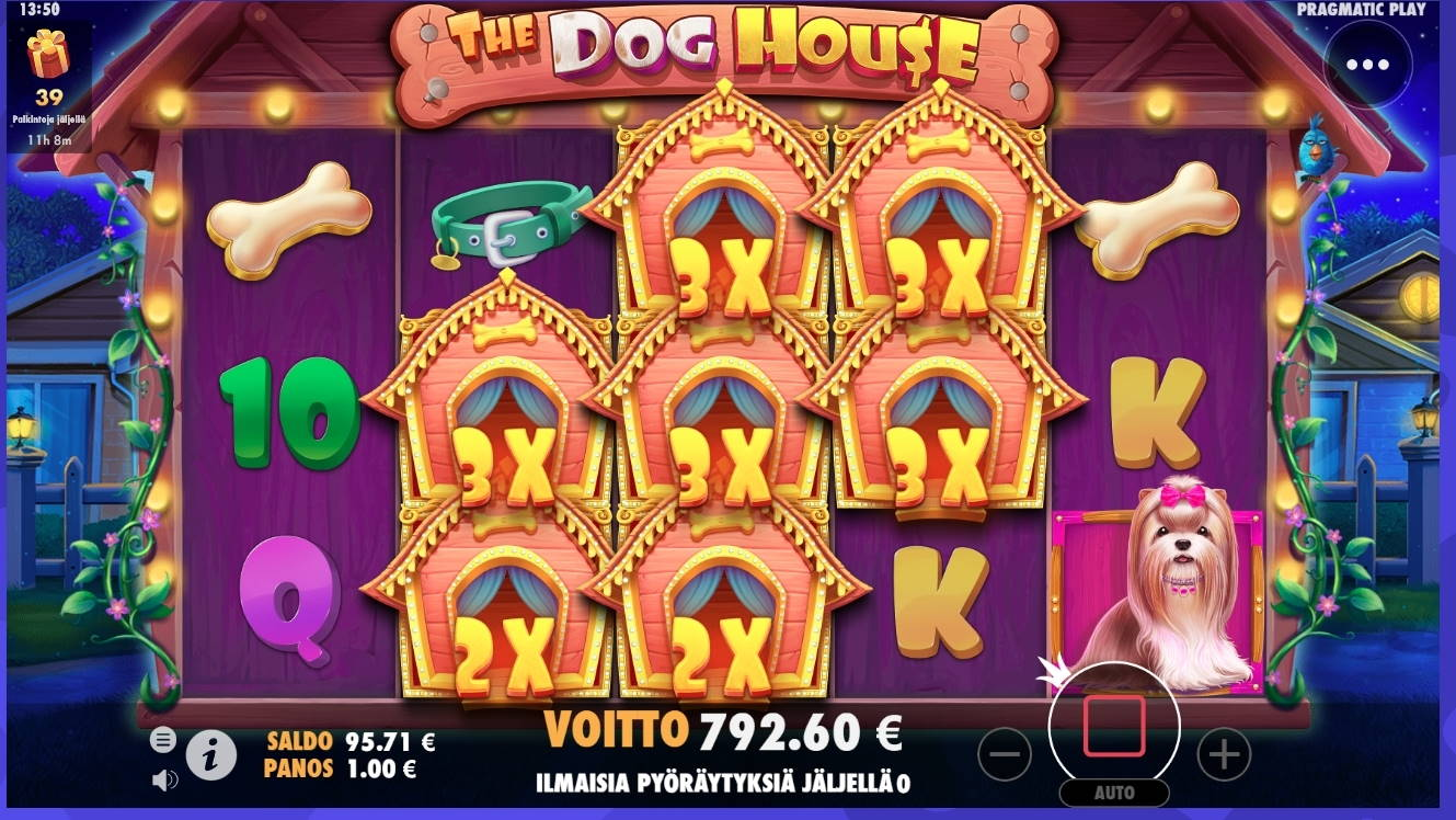The Dog House Casino win picture by Turboburo 24.1.2021 792.60e 793X