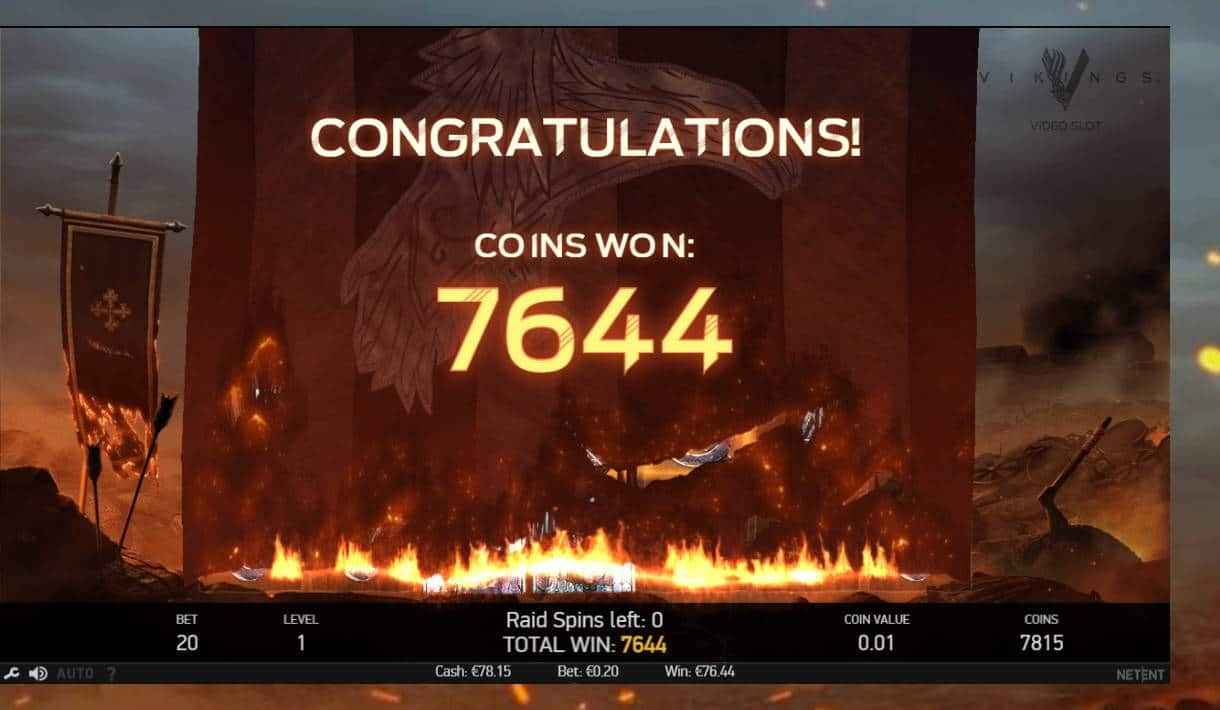 Vikings Casino win picture by kalmakoura666 7.2.2021 76.44e 382X