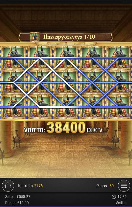 Book of Dead Casino win picture by Sonefinland 22.2.2021 7500e 750X