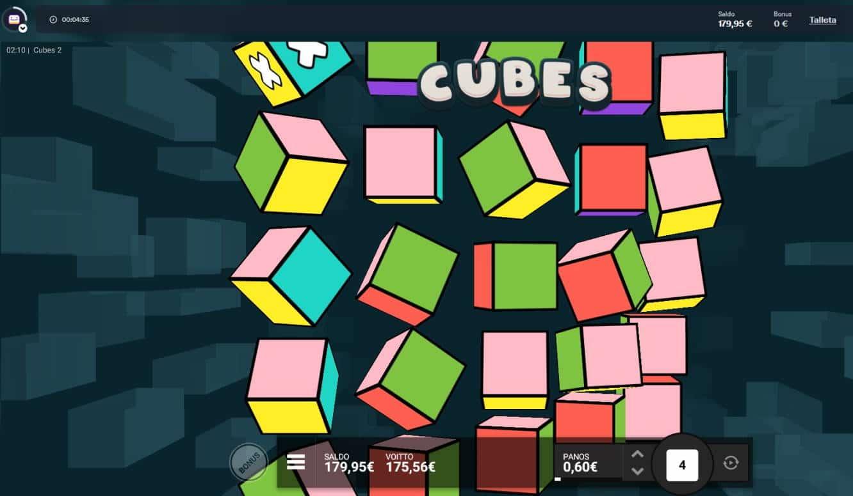 Cubes 2 Casino win picture by MrMork 18.2.2021 175.56e 293X