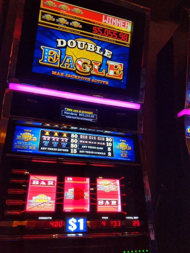 Double Eagle Casino win picture by Fishbones64 15.2.2021 43233.65d 1729X